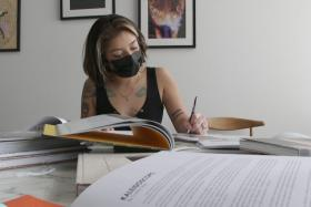 Jocelyn Lopez-Anlue; photo courtesy Spectrum News 1