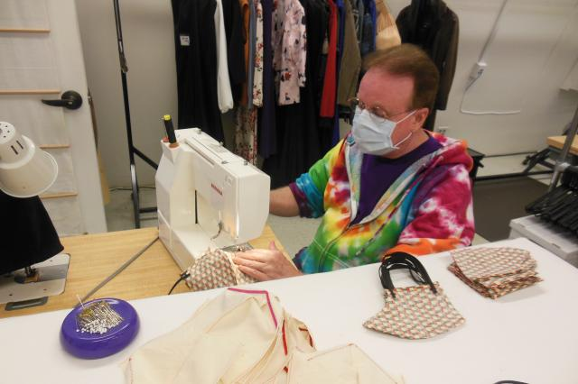 Brent Foland, UCSC Costume Shop Manager