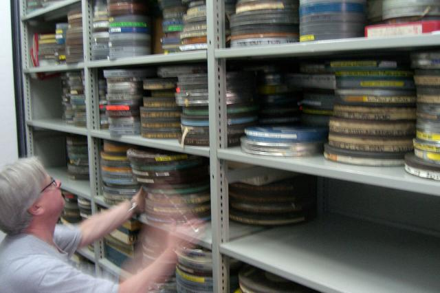 In the film vaults of the Prelinger Archive