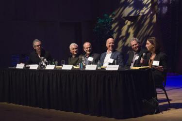 Panel discussion participants