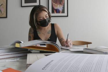Jocelyn Lopez-Anleu; photo courtesy Spectrum News 1