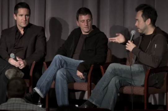 Ren Klyce talks about The Social Network with composers Trent Reznor and Atticus Ross