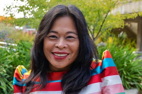 Dean Celine Parreñas Shimizu (Photo by Carolyn Lagattuta)