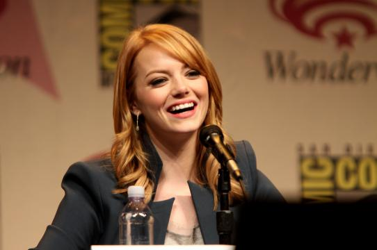 Emma Stone, photo: Gage Skidmore