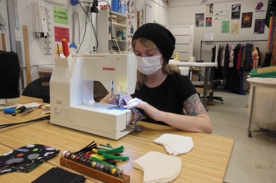 Jenna Phillips, UCSC Costume Shop Assistant