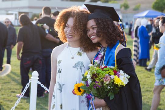 Approximately 3,200 students have applied to participate in college commencement ceremonies.