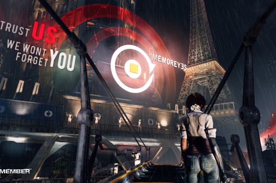 Remember Me, Developed by Dontnod, Published by Capcom, 2013. Image courtesy of Capcom.