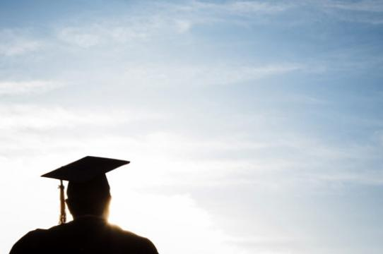 Commencement: A UCSC Grad Silhouette