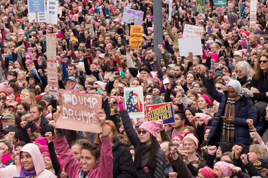 By Mark Dixon from Pittsburgh, PA (Trump-WomensMarch_2017-1060276