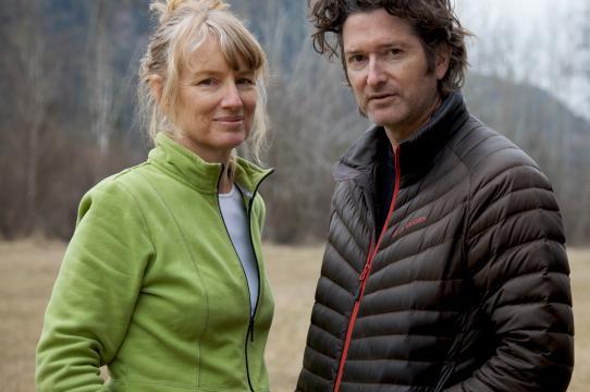 Portrait Cardiff & Miller, 2012. Photo: Zev Tiefenbach