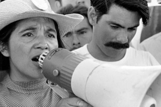 Dolores Huerta (Photo by George Ballis)