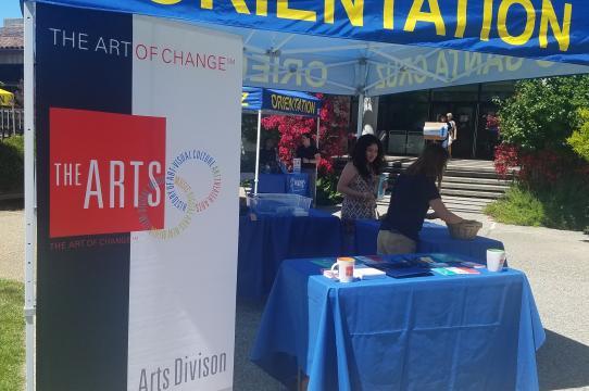 Summer 2018 Orientation Resource Fair (Arts Division)