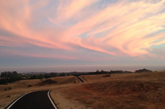 The UCSC bike path