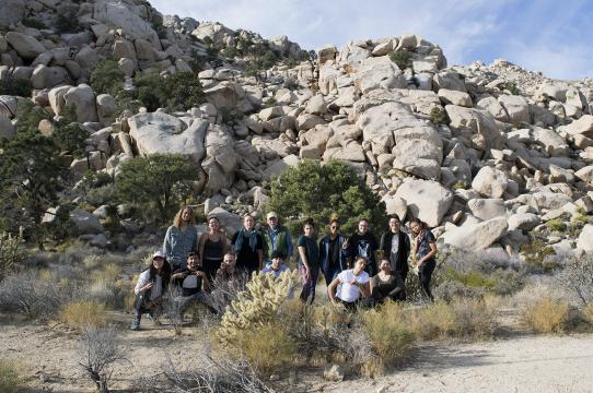 UCSC Photography students, Mojave Desert